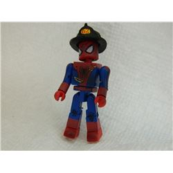 MINI FIGURE - SPIDERMAN - WITH FIREMAN HAT