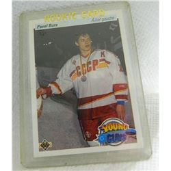 ROOKIE HOCKEY CARD - PAVEL BURE - IN HARD CASE