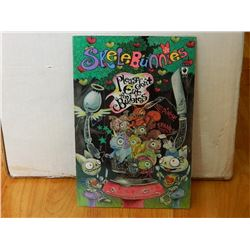 SKELEBUNNIES #2 JUNE 2002 DON'T EAT THE BABIES - NEAR MINT - IN BAG WITH BOARD