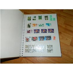 STAMPS - PHOTO ALBUM OF ASSORTED STAMPS