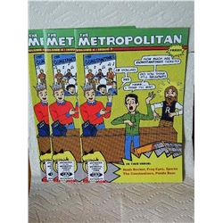 THE METROPOLITAN VOL.4 ISSUE #7 - 2007 - condition near mint - 3 TTL