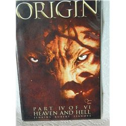 WOLVERINE THE ORIGIN - 2001 - #4 - HEAVEN AND HELL - NEAR MINT - WITH BAG & BOARD