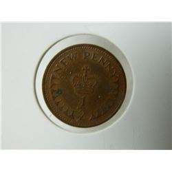 COIN - ½  NEW PENNY - 1971