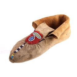 Blackfoot Beaded Moccasin circa 1880