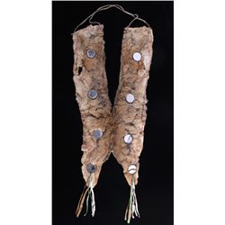 Lakota Ihoka Badger Society Otter Mirror Sash 1860