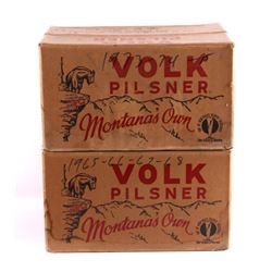 Volk Brewery Beer Boxes Great Falls Montana