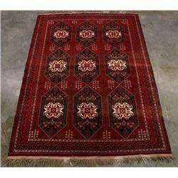Large Persian Kazak Style Woolen Rug