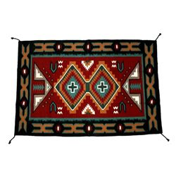 Navajo Klagetoh Pattern Style Large Wool Rug