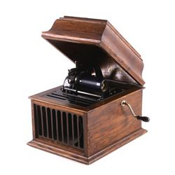 Antique Edison Amberola 30 Cylinder Phonograph