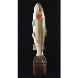 Big Sky Carvers Wooden Rainbow Trout