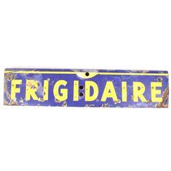 Frigidaire Porcelain Enamel Advertising Sign