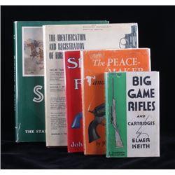 Hardcover Firearms Book Collection