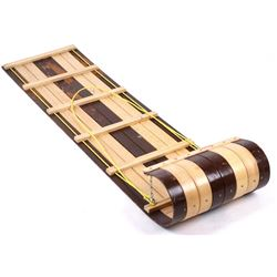 Vintage Bent Wood Paris Wooden Toboggan