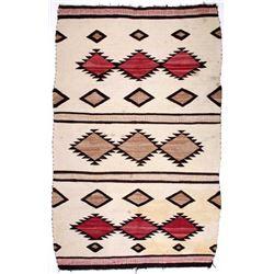 Navajo Native American Crystal Hand Woven Rug