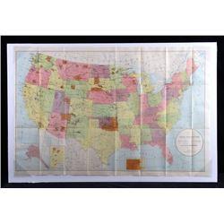 Original 1895 Indian Reservation Map