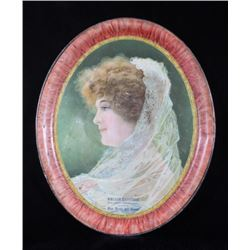 Early 1900 Advertising Tray for Boots W. Navitskie