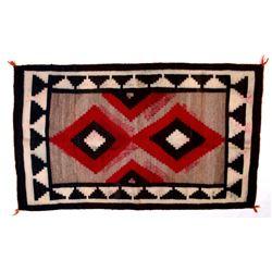 Navajo Native American Early Klagetoh Wool Rug