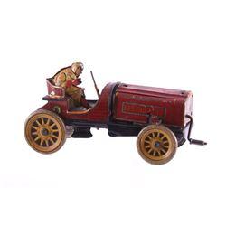 Antique Hessmobil German Tin Litho Race Car