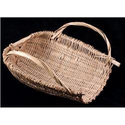 Native American Fish Catching Basket