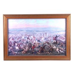 Custer's Last Fight Framed Print