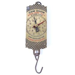 Cow Chow Purina Brass Milk Hanging Scale