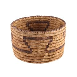 Pima Native American Indian Hand Woven Basket
