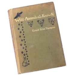 Wild Animals I have Known by Ernest Seton Thompson