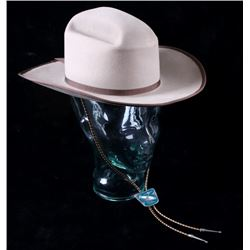 Eddy Bros. Cowboy Hat With Pewter Slide