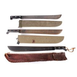 WWII & Later U.S. Military Machetes (3)