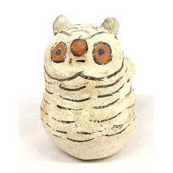 Vintage Native American Acoma Pottery Owl