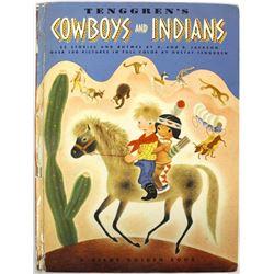 Tenggren's Cowboys and Indians, Giant Golden Book