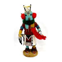 Hopi Navajo Butterfly Man Kachina, Loretta Multine