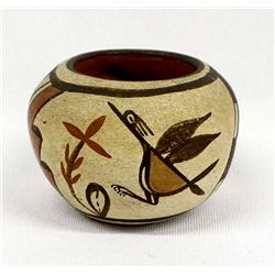 Vintage Zia Pottery Jar by Gloria Gachupin