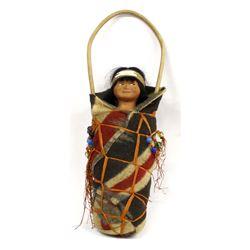 Rare Looking Left Skookum Doll