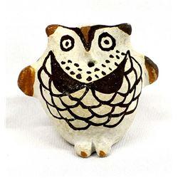 Acoma Pottery Owl by Juana Concho Pasqual
