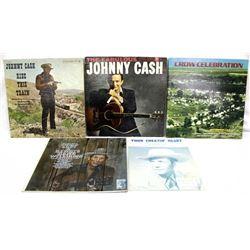 Vintage Record Albums & Hank Williams Sheet Music