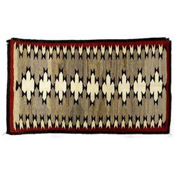 Vintage 1960 Navajo Wool Trading Textile