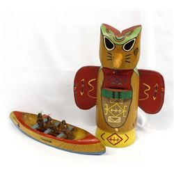 2 Vintage Native American Souvenir Items