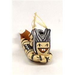 Native American Jemez Pottery Koshare Clown