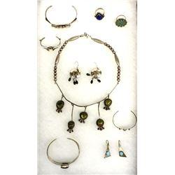 Vintage Native American Navajo Jewelry