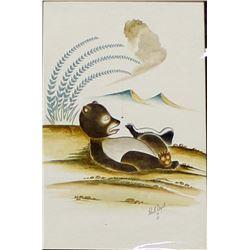 2005 Original Watercolor Painting by Paul Vigil