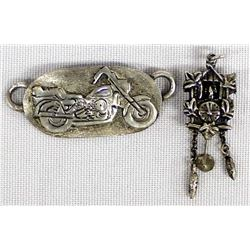 2 Silver Charms
