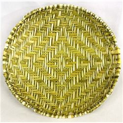 Native American Cherokee Sifter Basket