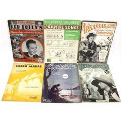 4 Vintage Softback Music Books
