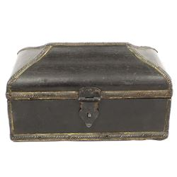 Vintage Ethnic Carved Wood Box