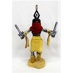 Navajo ''Apache Dancer'' Kachina by H. Hudson