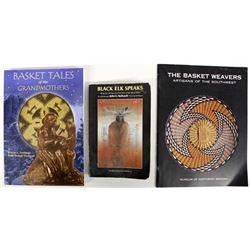 3 Softback Books, Native American Interest