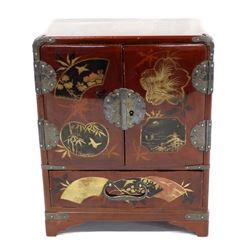 Japanese Lacquerware Jewelry Box