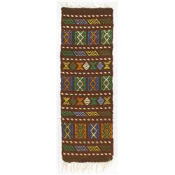 Beautiful South American Wool Textile Rug