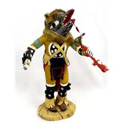Vintage 1969 Hopi ''Kweo'' Wolf Kachina